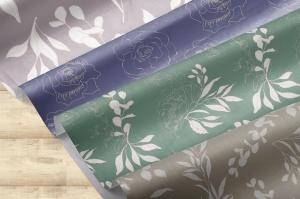 腮红色水彩手绘叶子图案剪贴画PNG素材 Blush Foliage Clip Art Bundle插图8