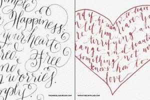 即时水墨效果字体插画图层样式 Inkwell – Instant Ink Effects插图3
