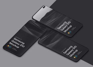 三星智能手机S10超级样机套装 Samsung Galaxy S10 Mockups插图50