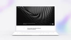 白色超极本笔记本电脑样机模板 White Laptop Mockup插图6
