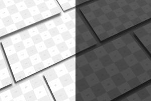 新媒体社交媒体传播设计物料效果图样机模板01 Landscape Perspective Mockup 01插图5
