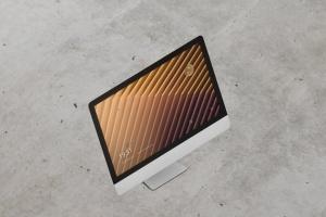 iMac电脑桌面屏幕样机模板 Desktop Screen Mockup插图9