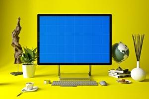 办公室场景微软一体机Surface样机模板合集 Surface in Studio插图12
