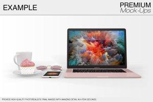 苹果MacBook Pro笔记本电脑样机展示模型mockups插图17