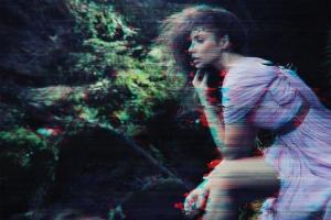 数字故障扭曲毛刺抽象照片特效PS图层样式v3 Glitch Photoshop PSD Template Ver. 3插图6