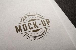 徽标Logo印刷效果展示样机合集 Logo Mockup Set插图5