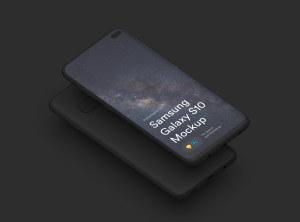 三星智能手机S10超级样机套装 Samsung Galaxy S10 Mockups插图43