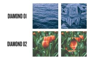 曼陀罗万花筒照片特效PSD分层模板 Photo Mandala插图3