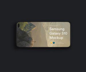 三星智能手机S10超级样机套装 Samsung Galaxy S10 Mockups插图10