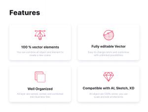 一流设计素材网下午茶:互联网概念的矢量素材素材下载[Ai]插图2