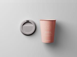 7个咖啡纸杯定制外观设计效果图样机模板 7 Coffee Cup Mockups插图7