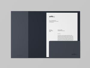 企业品牌标识文件夹设计样机模板 Branding Folder Mockup插图3