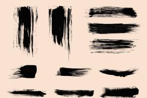 111个非凡令人着迷的PS画笔笔刷 Swirls & Strokes Brushes Set插图12