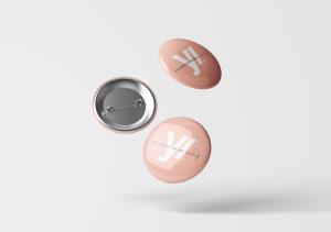 别针徽章胸章定做设计样机模板 Pin Button Badge Mockup插图7