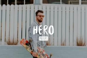 高质量黑色iPhone X设备样机模板 HERO Phone X Mockups插图2