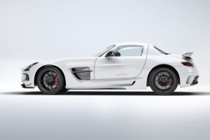 超级豪华跑车梅赛德斯SLS AMG样机模板 Supercar Mercedes SLS AMG Mock-Up插图12