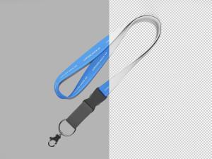 简约挂绳外观设计样机模板 Simple Lanyard Mockup插图2