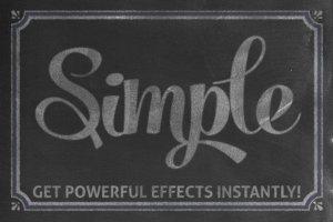 黑板画粉笔笔画文本样式 Chalkboard Automator – Chalk Effects插图2