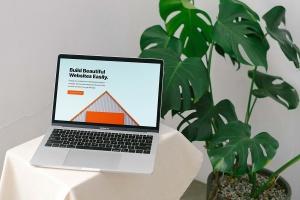 响应式网站设计效果图MacBook Pro电脑样机 Macbook Pro Responsive Mockup插图4