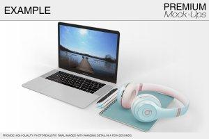苹果MacBook Pro笔记本电脑样机展示模型mockups插图9