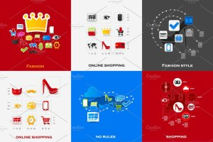 48个时尚购物信息图 48 FASHION&SHOPPING infographics插图4