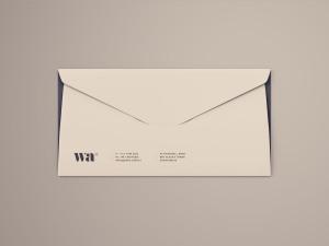 侧缝信封外观设计样机模板 Side Seam Envelope Mockup插图2