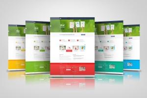网站/网页设计效果图样机模板 Web Pages Presentation Mock Up插图3
