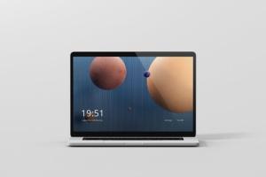 高分辨率笔记本电脑样机 Laptop Screen Mockup插图4