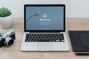 iPhone&Macbook办公桌场景UI设计样机套装Vol.2 Mockup Pack Vol.2 – 06 Photorealistic PSD插图4