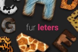 裘皮皮草纹理图层样式 Fur Styles插图1