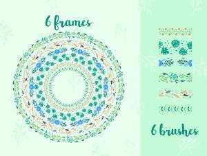 一流设计素材网下午茶:春季广告banner设计矢量素材[Ai]插图6