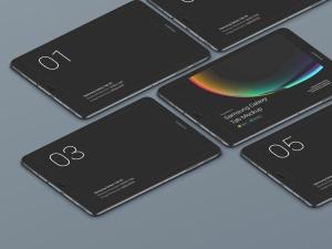 超级主流桌面&移动设备样机系列:Samsung Galaxy Tab  三星智能平板样机 [兼容PS,Sketch;共3.77GB]插图6