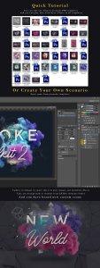 烟雾萦绕视觉特效PS素材大礼包[3.03GB] Smoke Toolkit 2插图7
