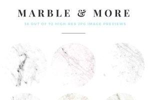 大理石&烫金锡纸纹理 Marble & More Backgrounds插图2