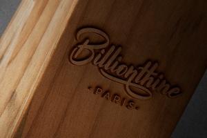 木刻/实木雕刻Logo效果图样机模板 Wood Logo Mockups插图1