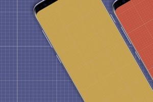 三星智能手机S9应用程序演示设备样机 S9 Mockup插图8