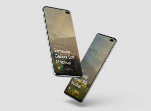 三星智能手机S10超级样机套装 Samsung Galaxy S10 Mockups插图25