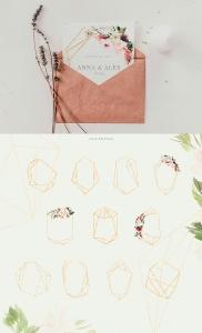腮红色水彩花卉手绘高清PNG素材 Watercolor Blush & Plum插图6