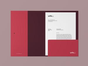 企业品牌标识文件夹设计样机模板 Branding Folder Mockup插图2