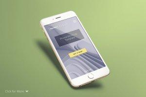 高清手持iPhone样机模板 Real Photo iPhone Mock-Up Set插图2