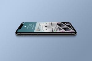 多角度的高品质iPhone X样机VI展示模型mockups插图3