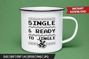 圣诞叮当毛衣T恤印花手绘图案设计素材 Christmas Jingle Sweater T-Shirt Xmas Retro Party插图3