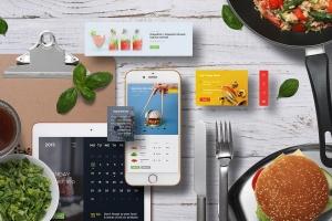 个性化APP&网站设计效果预览样机 App / UI Kit Mockups插图9