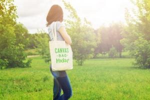 帆布手提袋样机模板 Canvas Bag Mockup插图6