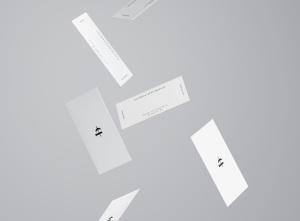 商业/个人名片设计样机模板插图6