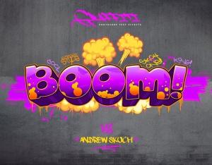 10款炫酷涂鸦效果字体样式PSD分层模板v2 Graffiti Text Effects – 10 PSD – vol 2插图2
