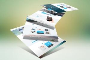 网站设计案例预览样机模板 Website Display Mockup插图2