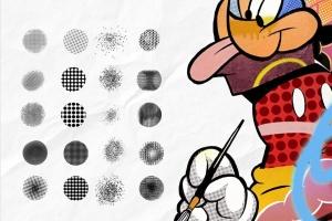 POP波普艺术Procreate笔刷套装 POP ART BRUSHES KIT插图3