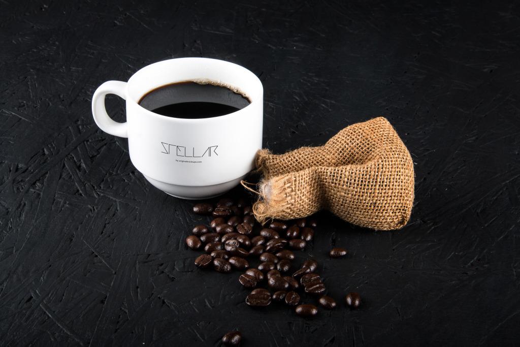 咖啡瓷杯咖啡杯设计图样机模板05 Coffee cup Mockup 05插图