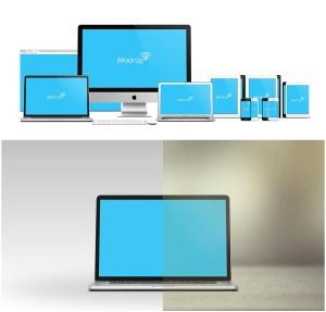 57种不同的苹果手机电脑设备VI样机展示模型mockups插图3